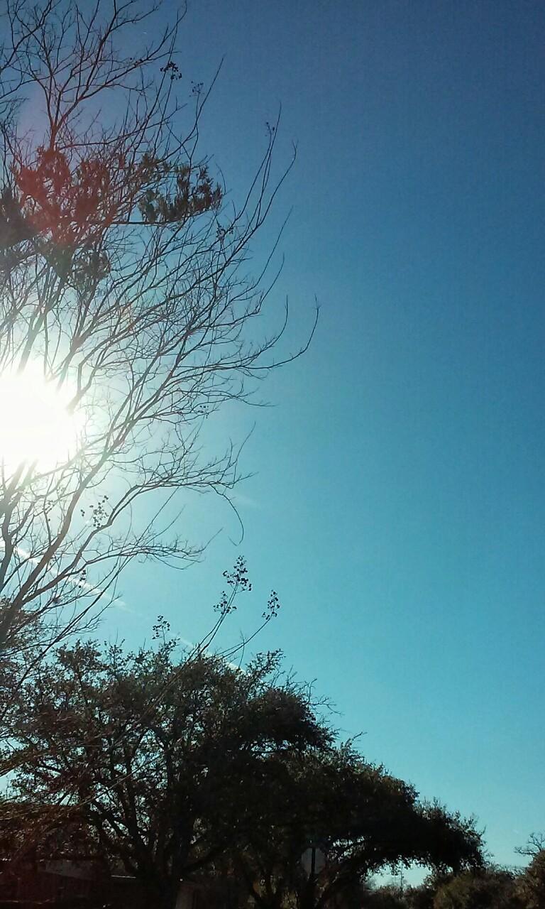 Blue Balls to Match the Blue Texas Sky