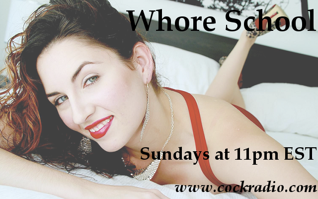 Whore School on Cock Radio 80 356 6169