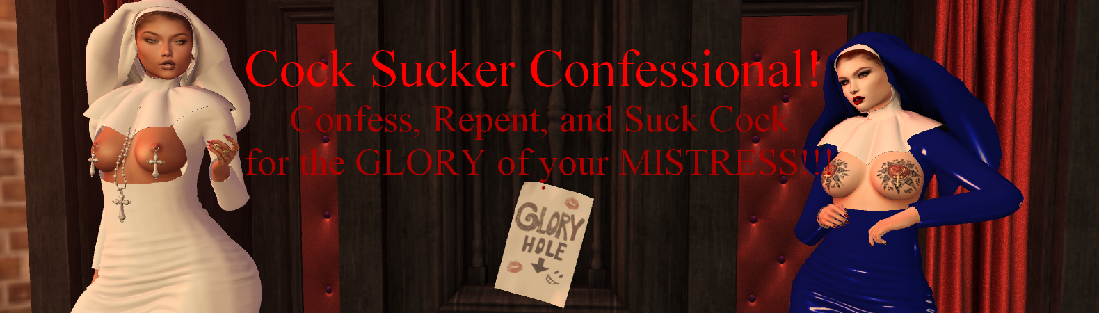 cock sucker confessional event 800 601 7259