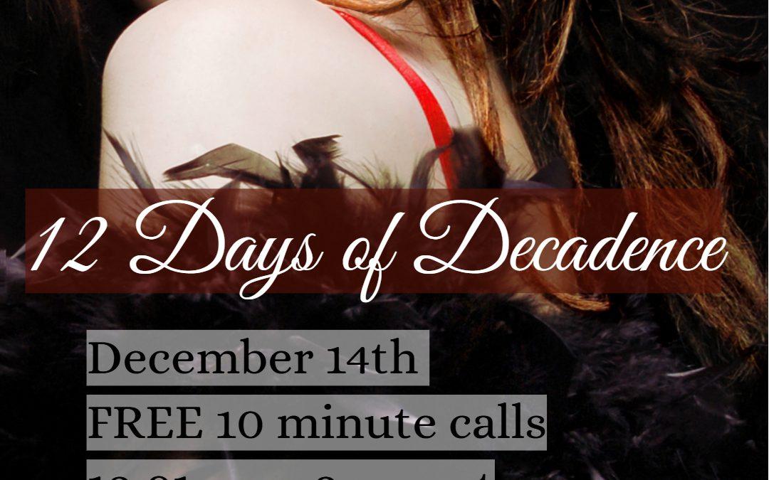 December 14th: 12 am – 2 am EST!!!