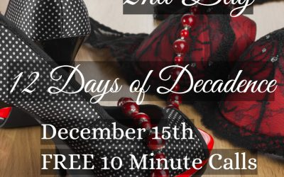 12 Days of Decadence, Day Two