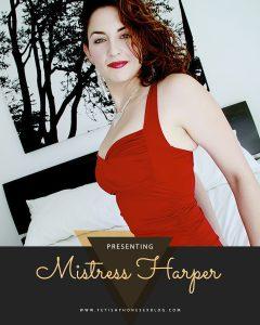 Harper Mistress Of The Month October 2020 8006017259
